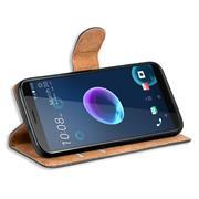 Basic Handyhülle für HTC Desire 12 Plus Hülle Book Case klappbare Schutzhülle