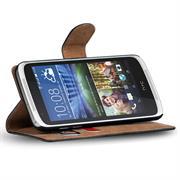 Basic Bookcase Hülle für HTC Desire 526 / 526g Plus Klapphülle Tasche mit Kartenfächer