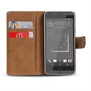 Basic Bookcase Hülle für HTC Desire 530 Schutzhülle mit Kartenfächern