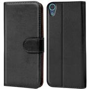 Basic Bookcase Hülle für HTC Desire 626 / 626g aufstellbare Tasche