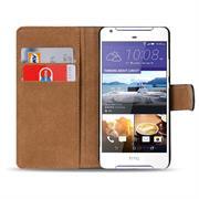 Basic Bookcase Hülle für HTC Desire 628 Schutzhülle mit Kartenfächern