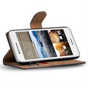 Basic Bookcase Hülle für HTC Desire 728g aufstellbare Schutzhülle