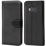 Basic Handyhülle für HTC One M9 Hülle Book Case klappbare Schutzhülle