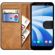 Basic Handyhülle für HTC U12 Life Hülle Book Case klappbare Schutzhülle