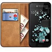 Basic Handyhülle für HTC U Ultra Hülle Book Case klappbare Schutzhülle