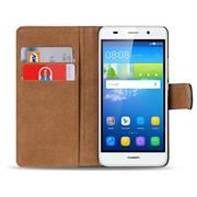 Basic Bookcase Hülle für Huawei G Play Mini Klapphülle Tasche mit Kartenfächer
