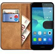 Basic Bookcase Hülle für Huawei GT3 klappbare Tasche mit Kartenfächern