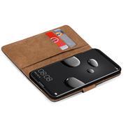 Basic Bookcase Hülle für Huawei Mate 10 Pro Tasche mit Kartenfächern