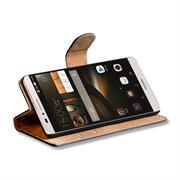 Basic Bookcase Hülle für Huawei Ascend Mate 7 Klapphülle Tasche mit Kartenfächer