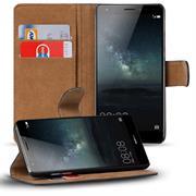Basic Bookcase Hülle für Huawei Mate 8 Klapphülle Tasche mit Kartenfächer