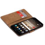 Basic Bookcase Hülle für Huawei Mate 9 Schutzhülle mit Kartenfächern