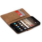 Basic Handyhülle für Huawei Mate 9 Hülle Book Case klappbare Schutzhülle