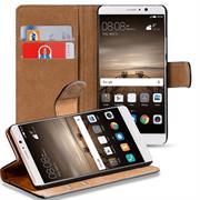 Basic Bookcase Hülle für Huawei Mate 9 Klapphülle Tasche mit Kartenfächern