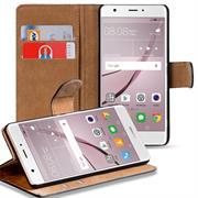 Basic Bookcase Hülle für Huawei Nova Plus Klappcase mit Kartenfächern