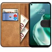 Basic Handyhülle für Huawei P40 lite 5G Hülle Book Case klappbare Schutzhülle