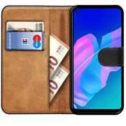 Basic Handyhülle für Huawei P40 Lite E Hülle Book Case klappbare Schutzhülle