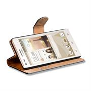 Basic Bookcase Hülle für Huawei Ascend P7 Klapphülle Tasche mit Kartenfächer