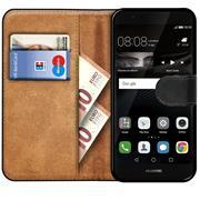 Basic Bookcase Hülle für Huawei P8 Lite 2017 Tasche mit Kartenfächern