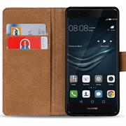 Basic Bookcase Hülle für Huawei P9 Klapphülle Tasche mit Kartenfächer