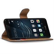 Basic Bookcase Hülle für Huawei P9 Lite Schutzhülle mit Kartenfächern
