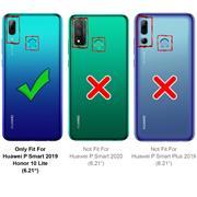 Basic Handyhülle für Huawei P Smart 2019 Hülle Book Case klappbare Schutzhülle