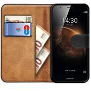 Basic Bookcase Hülle für Huawei ShotX Klapphülle Tasche mit Kartenfächer