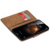 Basic Bookcase Hülle für Huawei ShotX Schutzhülle mit Kartenfächern