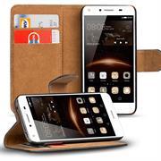 Basic Bookcase Hülle für Huawei Y5 II Schutzhülle mit Kartenfächern