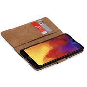 Basic Handyhülle für Huawei Y6 2019 Hülle Book Case klappbare Schutzhülle