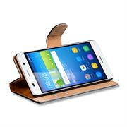 Basic Bookcase Hülle für Huawei Y6 klappbare Tasche mit Kartenfächern