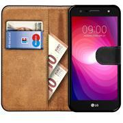 Basic Handyhülle für LG Bello 2 Hülle Book Case klappbare Schutzhülle