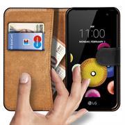 Basic Bookcase Hülle für LG G4 C klappbare Tasche mit Kartenfächern