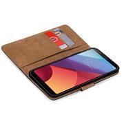 Basic Bookcase Hülle für LG G6 Klapphülle Tasche mit Kartenfächern