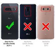 Basic Handyhülle für LG G8s ThinQ Hülle Book Case klappbare Schutzhülle