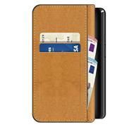 Basic Bookcase Hülle für LG K11 Klapphülle Tasche mit Kartenfächern