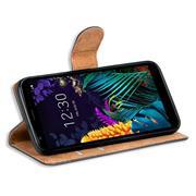 Basic Handyhülle für LG K20 Hülle Book Case klappbare Schutzhülle