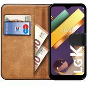 Basic Handyhülle für LG K22 Hülle Book Case klappbare Schutzhülle