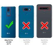 Basic Handyhülle für LG K40 Hülle Book Case klappbare Schutzhülle