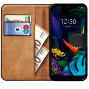 Basic Handyhülle für LG K40s Hülle Book Case klappbare Schutzhülle