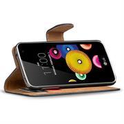 Basic Bookcase Hülle für LG K4 LTE Klapphülle Tasche mit Kartenfächer