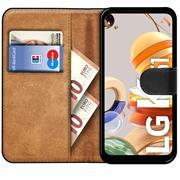 Basic Handyhülle für LG K61 Hülle Book Case klappbare Schutzhülle