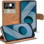 Basic Bookcase Hülle für LG Q6 Klapphülle Tasche mit Kartenfächern