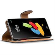 Basic Bookcase Hülle für LG Stylus 2 Schutzhülle mit Kartenfächern