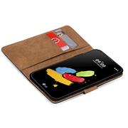 Basic Handyhülle für LG Stylus 2 Hülle Book Case klappbare Schutzhülle