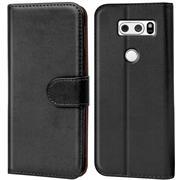 Basic Handyhülle für LG V30 Hülle Book Case klappbare Schutzhülle