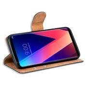 Basic Bookcase Hülle für LG V30 Klapphülle Tasche mit Kartenfächern