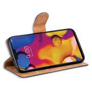 Basic Bookcase Hülle für LG V40 klappbare Schutzhülle