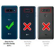 Basic Handyhülle für LG V40 Hülle Book Case klappbare Schutzhülle