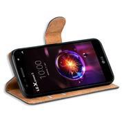 Basic Bookcase Hülle für LG X Power 3 klappbare Schutzhülle