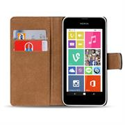 Basic Bookcase Hülle für Nokia Lumia 530 Schutzhülle mit Kartenfächern